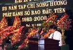Lễ kỷ niệm 25 năm Sông Hương: Cháy bỏng những tấm lòng vì văn nghệ cố đô