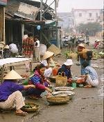 Chợ Gia Lạc trong ngày lễ xuân
