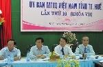 Hội nghị Ủy ban MTTQ Việt Nam tỉnh Thừa Thiên Huế lần thứ 10 (khóa VII)