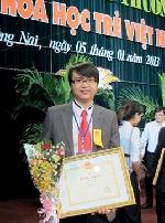Phan Tuấn Anh và niềm đam mê nghiên cứu khoa học