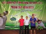 Giải quần vợt tranh cup Huda beer năm 2013