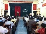 Hội nghị tổng kết công tác tuyển chọn và gọi công dân nhập ngũ năm 2013
