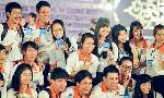 Tinh thần xung kích của các Tình nguyện viên Festival Huế 2014
