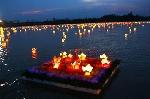 Bông hoa lửa trên sông