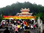 Đại lễ khánh thành đền thờ vua Trần Nhân Tông
