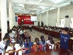 Tổ chức hoạt động truyền thông sức khỏe sinh sản cho sinh viên Huế