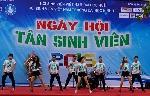 Sôi động Ngày hội Tân sinh viên 2015