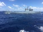 Tàu chiến Trung Quốc chĩa súng vào tàu tiếp tế Việt Nam
