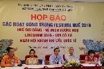 Những chương trình lần đầu tiên được tổ chức tại Festival Huế 2016