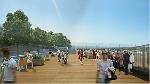 Huế sẽ làm đường đi bộ lát gỗ ngoài trời dọc sông Hương
