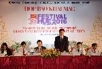 Họp báo Festival Huế 2016