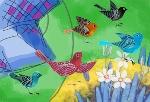 Bà cụ Cần và bầy chim sẻ