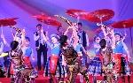 """Nhà hát Nghệ thuật Ca kịch Huế tham gia""""Liên hoan Nghệ thuật 5 nước Việt Nam, Lào, Campuchia, Myanmar và Thái Lan - 2016""""."""