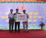 Lễ đón nhận Bằng xếp hạng di tích lịch sử địa điểm Chiến khu Dương Hòa