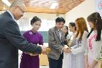 23 sinh viên ĐH Sư phạm Huế nhận học bổng AMA