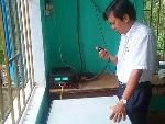 Kiểm tra hệ thống thông tin liên lạc phục vụ công tác phòng, chống thiên tai