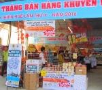 """""""Chương trình Tháng bán hàng khuyến mại tỉnh Thừa Thiên Huế lần thứ X năm 2016"""" đã thu hút trên 400 doanh nghiệp trong và ngoài tỉnh tham gia"""