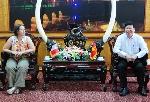Đoàn chuyên gia hợp tác quốc tế vùng Nouvelle Aquitaine (Pháp) vừa có buổi làm việc với tỉnh Thừa Thiên Huế