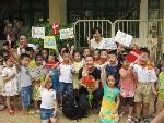 Hội thảo thí điểm cho trẻ làm quen với tiếng Anh trong các cơ sở giáo dục mầm non