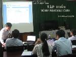 Tập huấn triển khai phần mềm Quản lý văn bản và điều hành