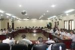 Sở Y tế và Bệnh viện Trung ương Huế tổ chức giao ban bàn quy chế phối hợp