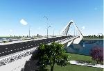 Trao giải Nhất cuộc thi tuyển kiến trúc công trình Cầu vượt Sông Hương cho phương án Nón Huế
