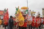 Độc đáo lễ hội tái hiện lễ xuất quân của Triệu Quang Phục