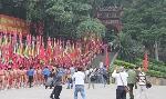 Hôm nay khai hội Đền Hùng