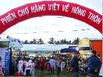 Phiên chợ đưa hàng Việt về nông thôn tại  Phú Vang