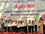 Ngày hội thiếu nhi có hoàn cảnh đặc biệt, khó khăn tại Thừa Thiên- Huế