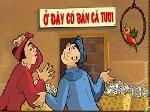 Việc sử dụng tín hiệu phi ngôn ngữ thay thế tín hiệu ngôn ngữ qua giao tiếp, trong truyện cười dân gian người Việt