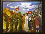 Hà Nội tổ chức trại sáng tác điêu khắc về lực lượng vũ trang