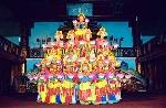 """Đôi nét về điệu múa cung đình """"Lục cúng hoa đăng"""""""