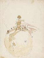"""Ngắm nhìn những bức tranh minh họa của """"Hoàng tử bé"""""""