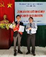 Công bố và trao Quyết định bổ nhiệm nhà thơ Lê Vĩnh Thái giữ chức vụ Tổng Biên tập Tạp chí Sông Hương