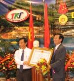 Đài TRT đón nhận Huân Chương lao động hạng Nhất