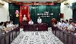 Chủ tịch UBND tỉnh gặp mặt đoàn cán bộ Y tế tham gia công tác phòng, chống dịch COVID-19 tại Đà Nẵng