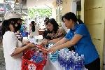 """Phiên chợ """" 0 Đồng"""" cho công nhân lao động sau mùa mưa lũ"""