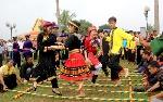 Ngày hội tôn vinh di sản văn hóa và sức mạnh đại đoàn kết dân tộc