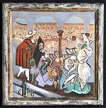Tìm thấy và bán đấu giá một bức tranh mới của Picasso