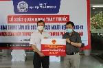92 y bác sĩ lên đường vào tp Hồ Chí Minh hỗ trợ chống dịch Covid-19.