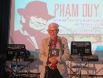Chương trình kỷ niệm 100 năm ngày sinh nhạc sĩ Phạm Duy ((5/10/1921 – 5/10/2021)