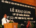 Khai giảng lớp Bồi dưỡng lý luận, phê bình văn học, nghệ thuật khu vực miền Trung - Tây Nguyên