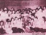 Nghệ sĩ Mai Xuân Hòa thổi sáo cho Bác Hồ nghe