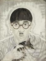 Mèo trong tranh Foujita