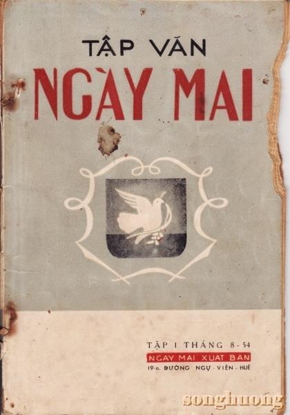 Tập văn Ngày Mai - Nhóm Ngày Mai trong phong trào Hòa Bình tại Huế (1954)