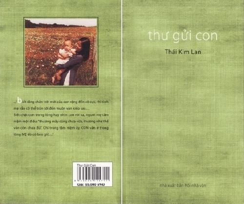 """Cảm nhận cuốn sách """"Thư gởi con"""" của Thái Kim Lan"""
