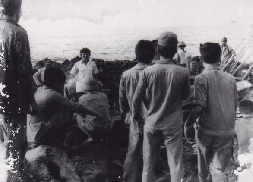 Mãi nhớ một chuyến thăm đảo Cồn Cỏ