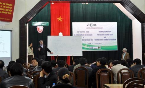 Hội thảo tập huấn Hệ thống chuyển đổi tín chỉ Châu Âu và Đảm bảo chất lượng giáo dục đại học