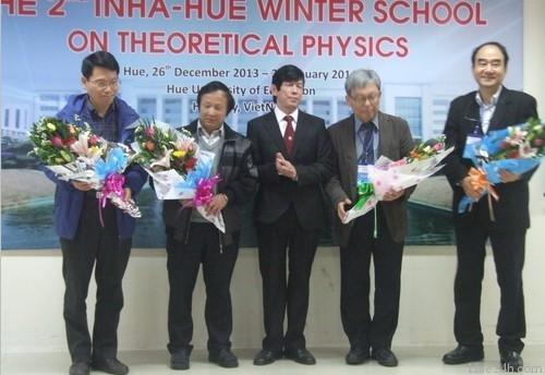 """Khai mạc lớp """"Trường Đông Inha-Hue"""" về Vật lý lý thuyết lần thứ Hai"""